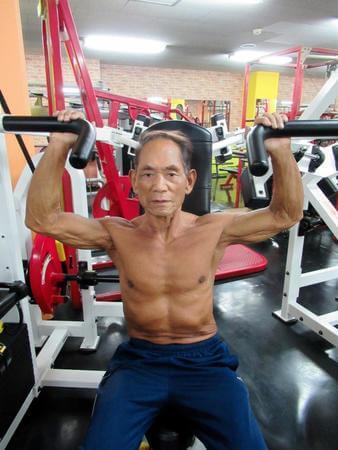 81歳でボディビルダー